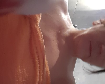 Thumbnail for DonnaDoll4U's Premium Video play with myself under shower