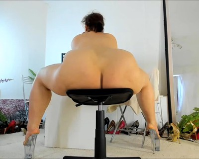 Thumbnail for NaughtyMILFSonya's Premium Video big legs, big booty, chair riding, clear heels, full nude