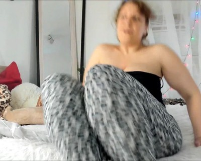 Thumbnail for NaughtyMILFSonya's Premium Video Legs Flexing Big Dildo Fucking Missionary