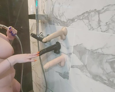 Thumbnail for PumaShy's Premium Video Love to have naughty shower.