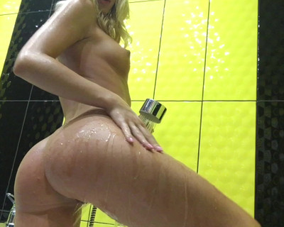 Thumbnail for BriannaMood's Premium Video #6 Shower fingering & orgasm