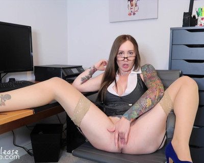 Thumbnail for ElouisePlease's Premium Video Pleasing Your Boss To Save Your Job