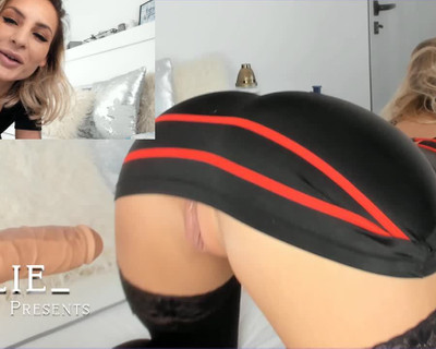 Thumbnail for Lilie_'s Premium Video 4k Vid – Double Penetration: With my Fuck Machine