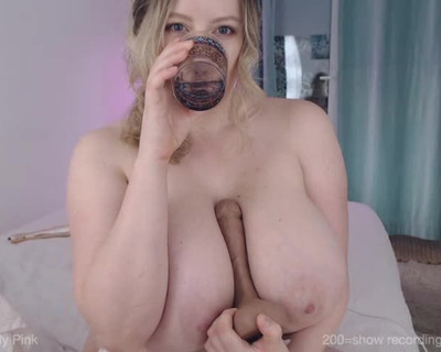 Thumbnail for LilyPink's Premium Video Squirting Dildo Tittywank, blowjobs and cum cam shows 1st Aug 2019