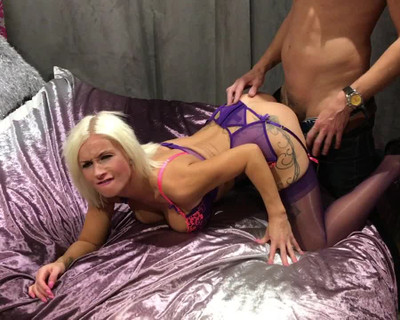 Thumbnail for Lucindalovitt's Premium Video Fucked hard by big cock doggy style