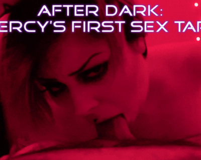 Thumbnail for MercyMorg's Premium Video After Dark: Mercy's First Sex Tape