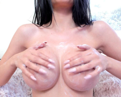 Thumbnail for Miss__Diamond's Premium Video creamed boobs
